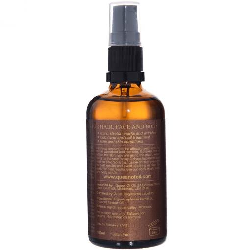 Coconut Argan Oil- Back